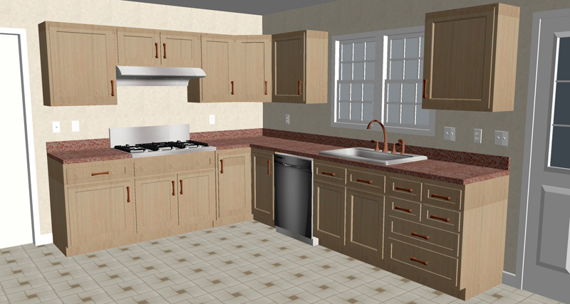 Kitchen Remodeling Cost Minor Major Upscale Kitchen Remodel - Average price of a kitchen remodel